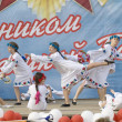 Ensemble of culture dance Dubrovitsy — Foto Stock
