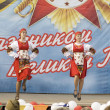 Ensemble of culture dance Dubrovitsy - Stock Photo