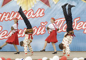 Ensemble of culture dance Dubrovitsy — Stock Photo