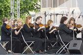 Symphonic orchestra of a name of V. Solovyev-Sedoy — Stock Photo