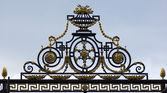 Summer park gate — Stockfoto
