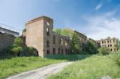 Old barracks. Noteburg. Saint Petersburg — Stock Photo