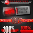 Royalty-Free Stock : Vector set -  signs and emblems of 100% high quality labels