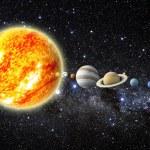 Solar system — Stock Photo #10916551