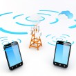 Cellular Network — Stock Photo #11683315