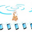 Cellular Network — Stock Photo #11683321
