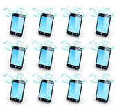 Cell phoneTower — Stock Photo