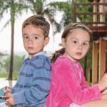 Girl and boy — Stock Photo #11060847