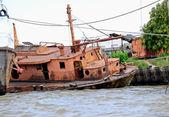 Opuštěné lodi — Stock fotografie