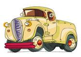 Pickup vintage — Vettoriale Stock