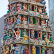 Hindu temple in Singapore — Foto Stock