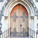 Church doors — Stock Photo #11414183