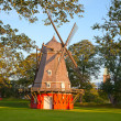 Old windmill - Stock Photo