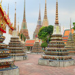 Wat Pho temple — Stockfoto
