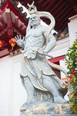 Çinli savaşçı — Stockfoto