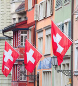 Old street in Zurich — Stock Photo