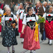 Swiss National Day parade in Zurich — Stock Photo #11543106