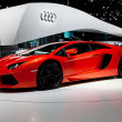 Geneva motor-show 2011 — Stock Photo #11545159