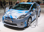 Geneva 81st International Motor Show — Stock Photo