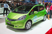 Honda Jazz Hybrid — Stock Photo