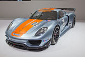 Porsche 918 rsr — Stock fotografie