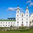 Cathedral of Holy Spirit in Minsk, Belarus. - Stock Photo