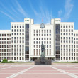 Parliament building in Minsk. Belarus — Stock Photo #12032119