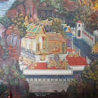 Thai Mural painting - Foto de Stock  