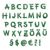 немецкий алфавит — Стоковое фото