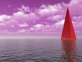 Purpurové nebe — Stock fotografie