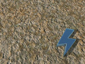 Flash symbol — Stock Photo