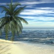 Stock Photo: Sunny beach