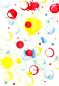 The background of the blobs, spray, prints — Stock Photo