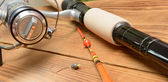 Objects for fishing — Stock Photo