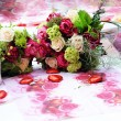 Beautiful arrangement of flowers — Foto de Stock
