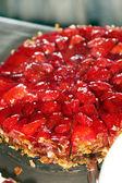Delizioso dessert fragola — Foto Stock