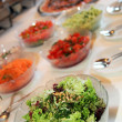 Foto Stock: Fresh salad buffet