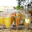 Champagne to drink toast — Stock Photo #11428945