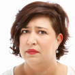 Anxious worried woman — Stock Photo #11448324