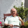 Retired man giving a thumbs up — Stock Photo #11530122