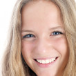 Smiling girl with lovely smile — Stock Photo #12243553