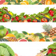 Stock Photo: Fruit and vegetables for all tastes