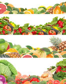 Fruit and vegetables for all tastes — Stock Photo