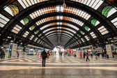 Milan Central Station. — Stock Photo