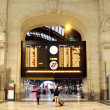 Main timetable. Milan Central Station, Italy. — Stock Photo #11818569
