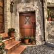 Stock Photo: Ancient house. Ventimiglia, Italy.