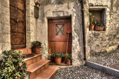 Ancient house. Ventimiglia, Italy. — Stock Photo
