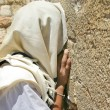 Stock Photo: Prayer at Western Wall. Jerusalem, Israel.