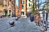 Old street of Genoa, Italy. — Stock Photo