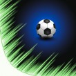 Royalty-Free Stock Photo: Abstract Beautiful soccer Background